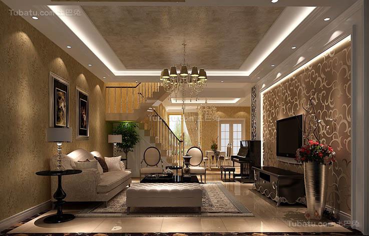 简欧精美客厅设计