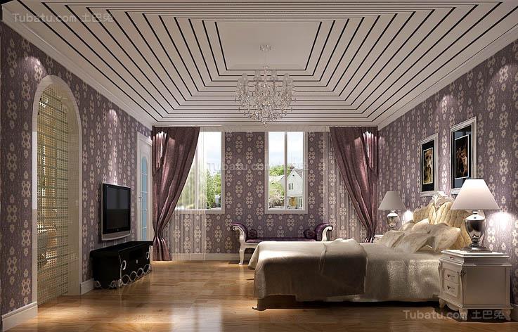 温馨优雅卧室设计装修