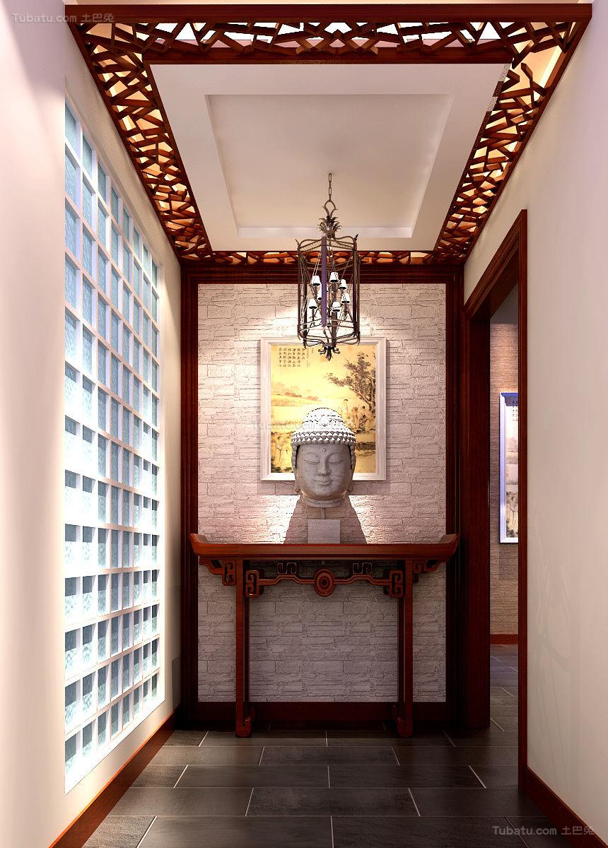中式古典气息吊顶装修图片