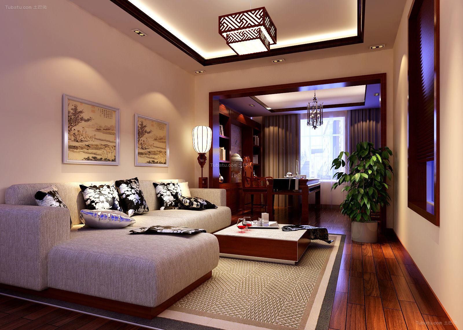 中式典雅精致别墅装修图片