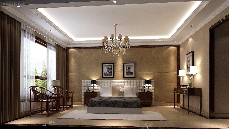 欧式豪华精美卧室装修图片