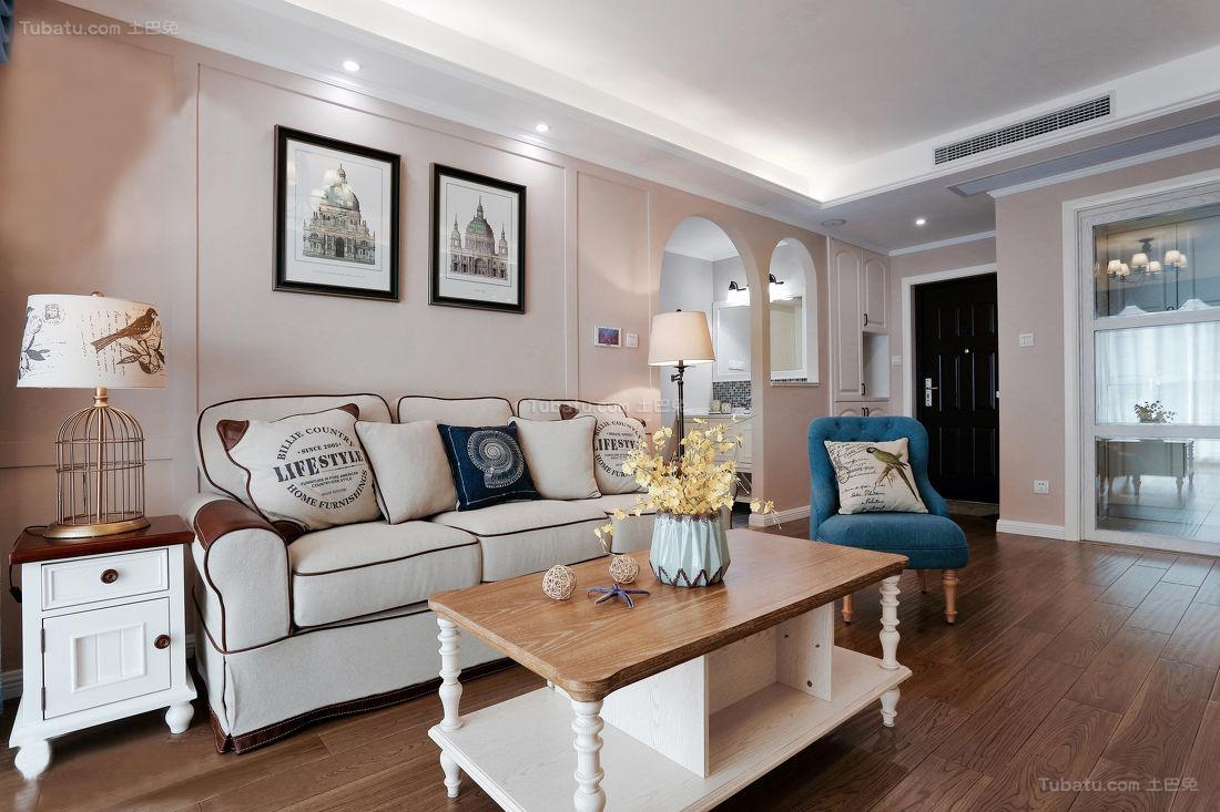 美式雅致三居室装修图片欣赏