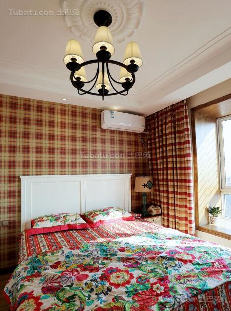 美式风情系列卧室装修效果图