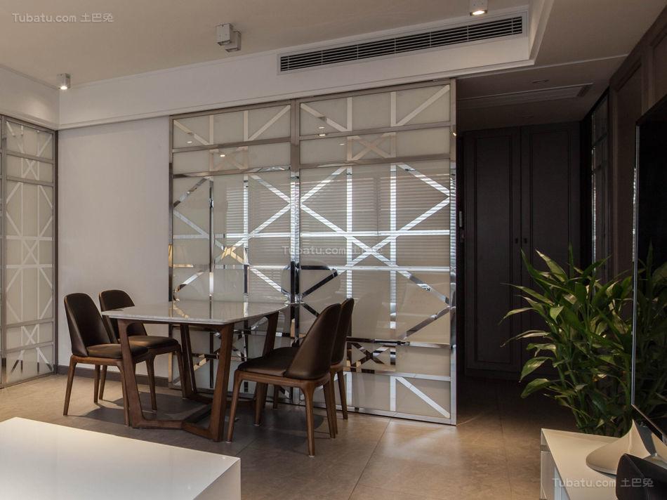 现代装修风格餐厅设计效果图