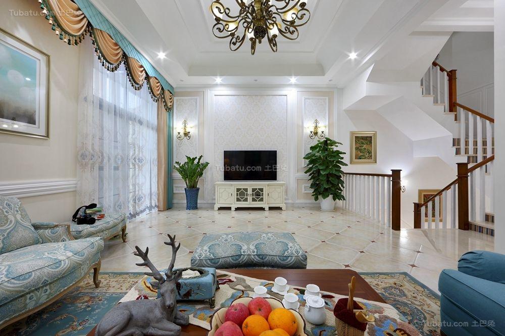 美式品质生活系列别墅装修效果图