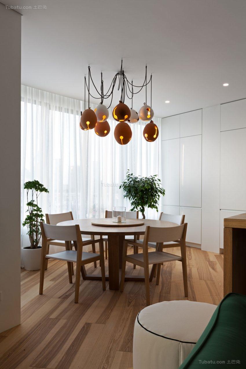 极简主义公寓餐厅装修效果图