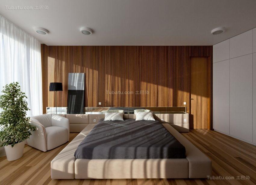 极简主义风格公寓卧室装修效果图