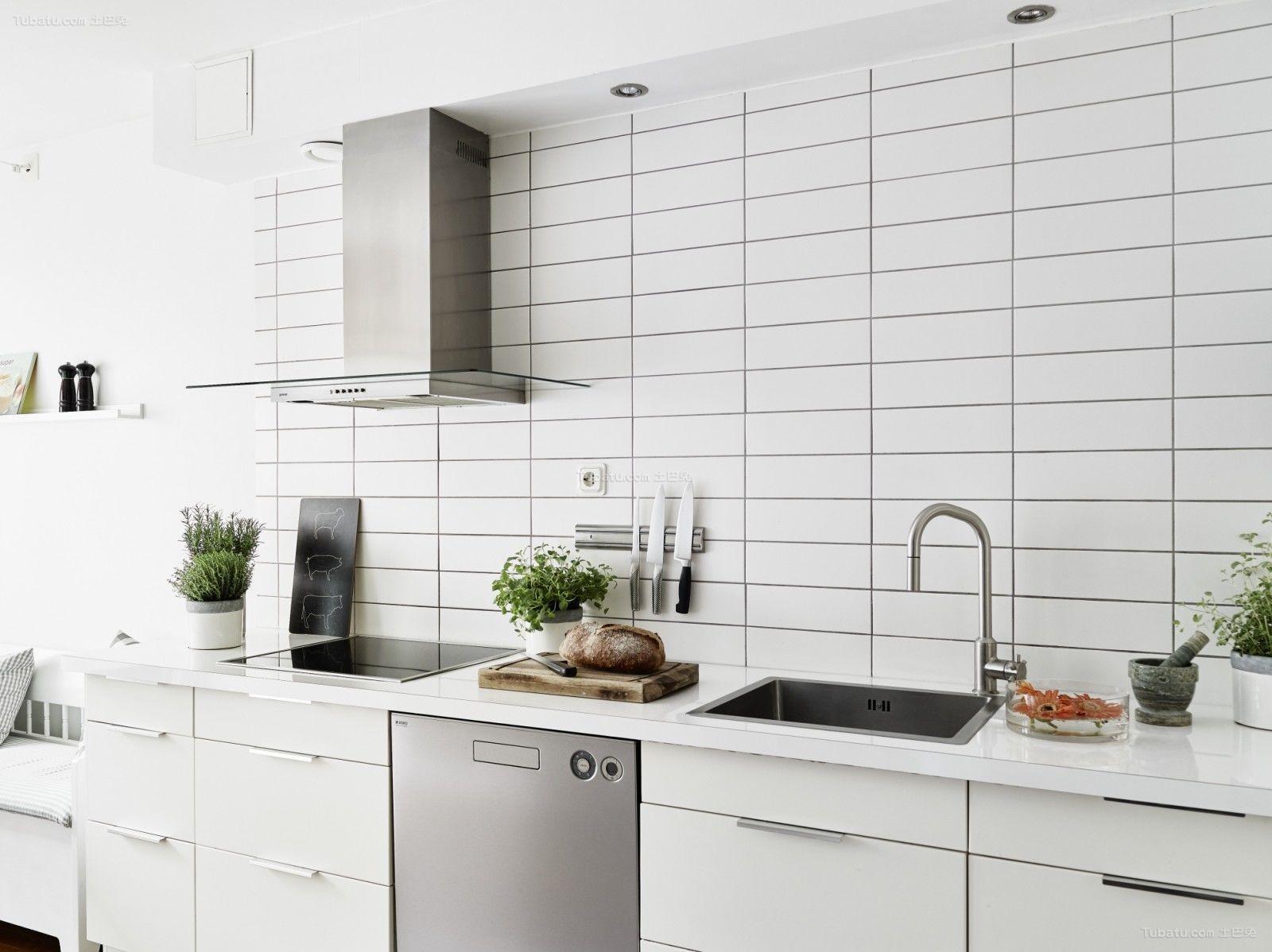 北欧清新家装系列厨房设计效果图