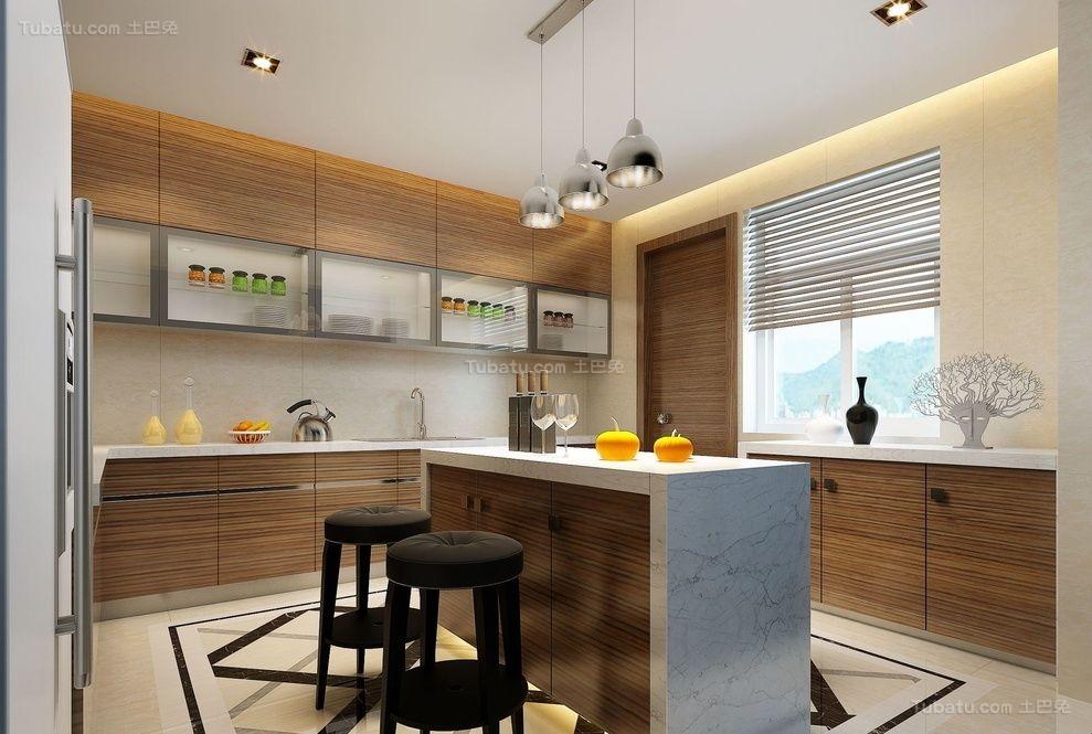 新古典高雅气质餐厅装修图