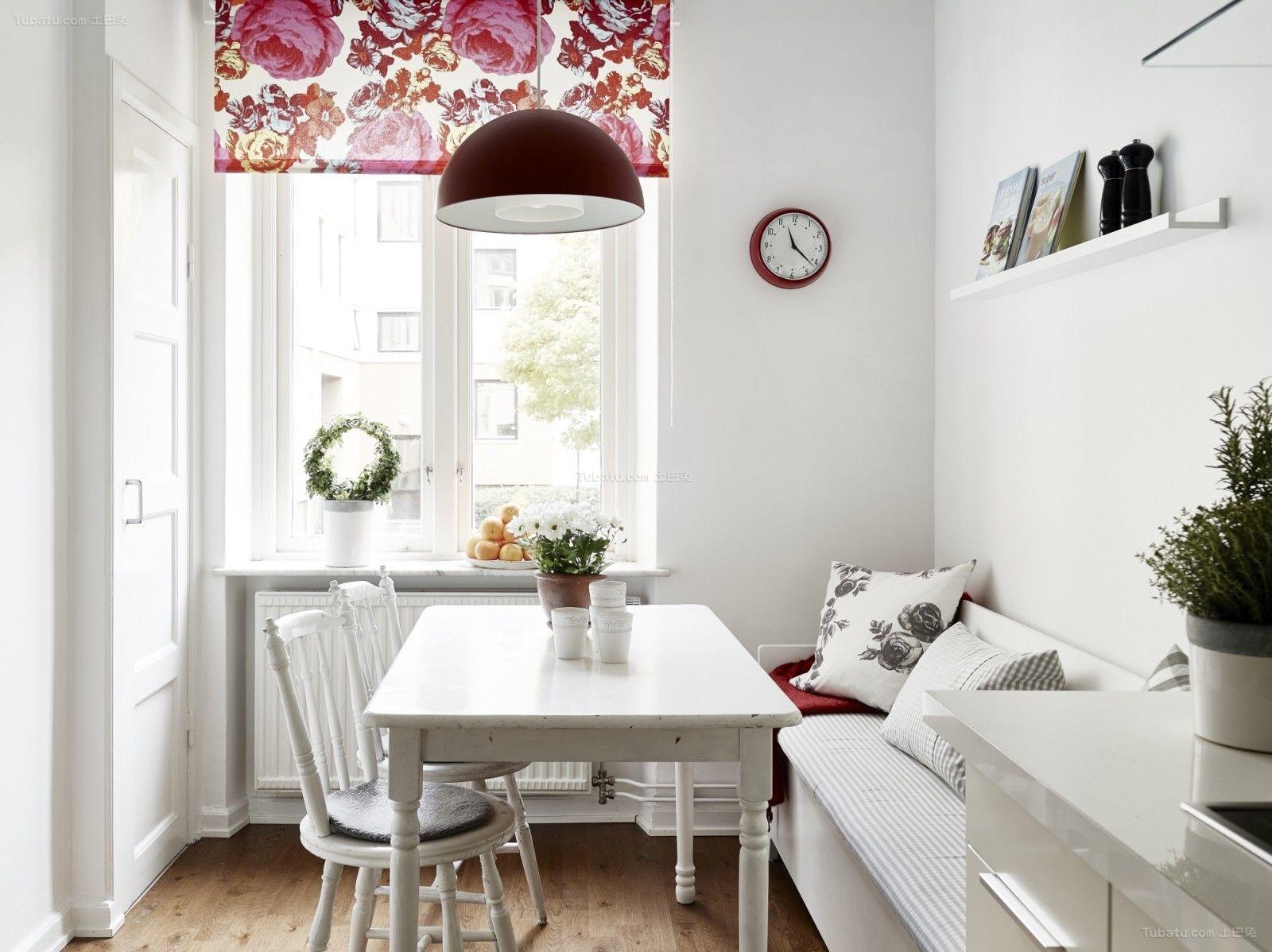 北欧清新家装系列餐厅设计效果图