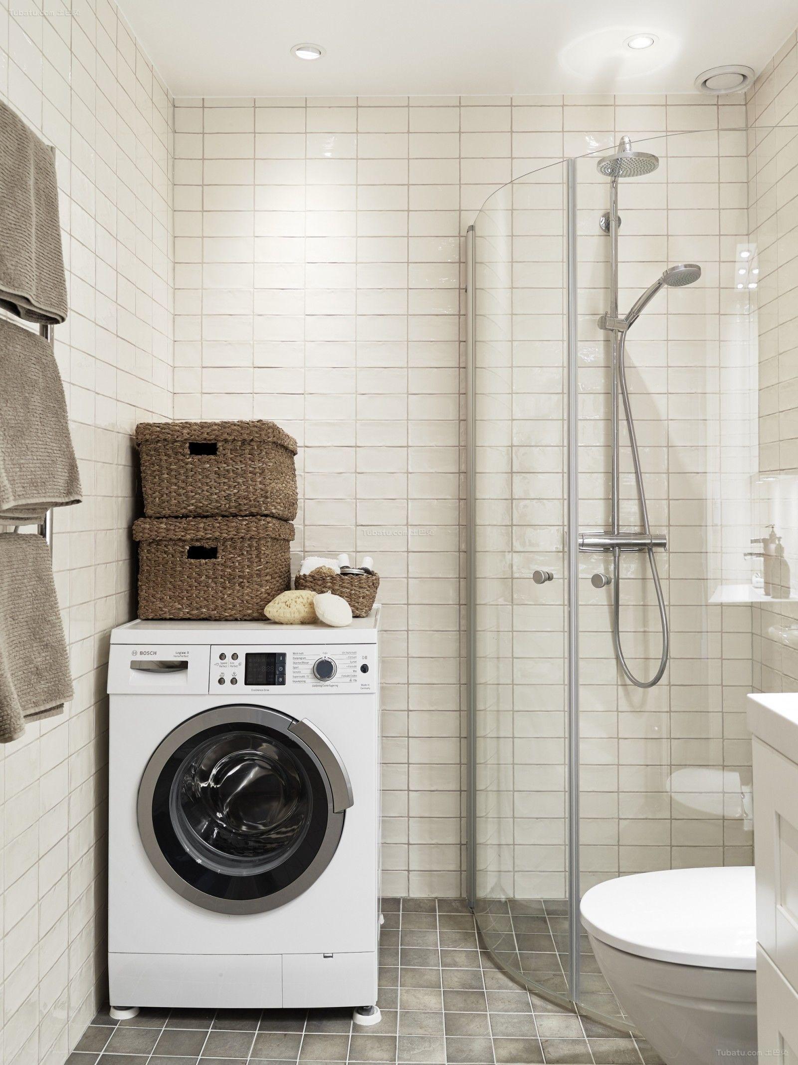 北欧清新家装系列卫生设计效果图