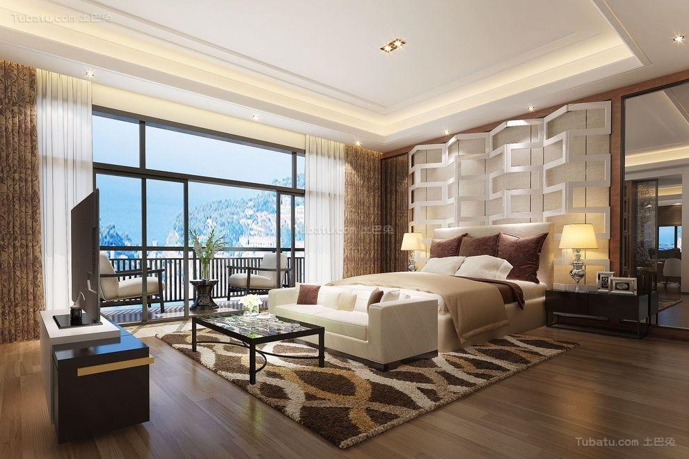 新古典高雅气质卧室装修图