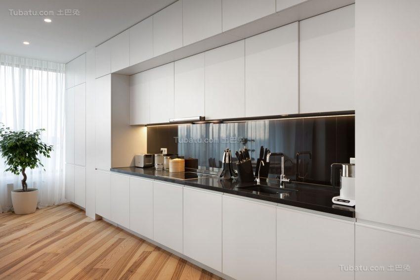 极简主义风格厨房装修效果图