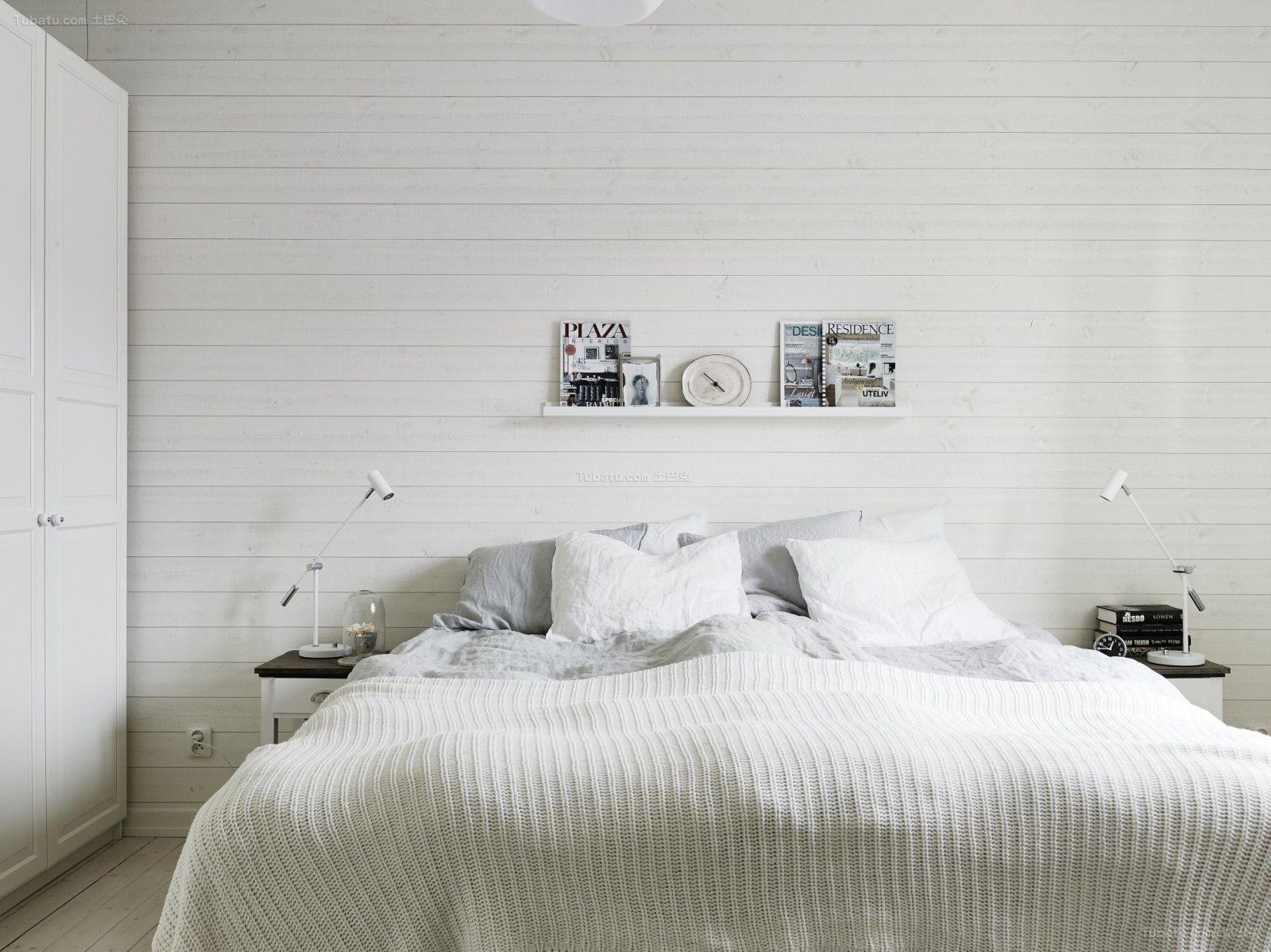 清新家装系列卧室设计效果图