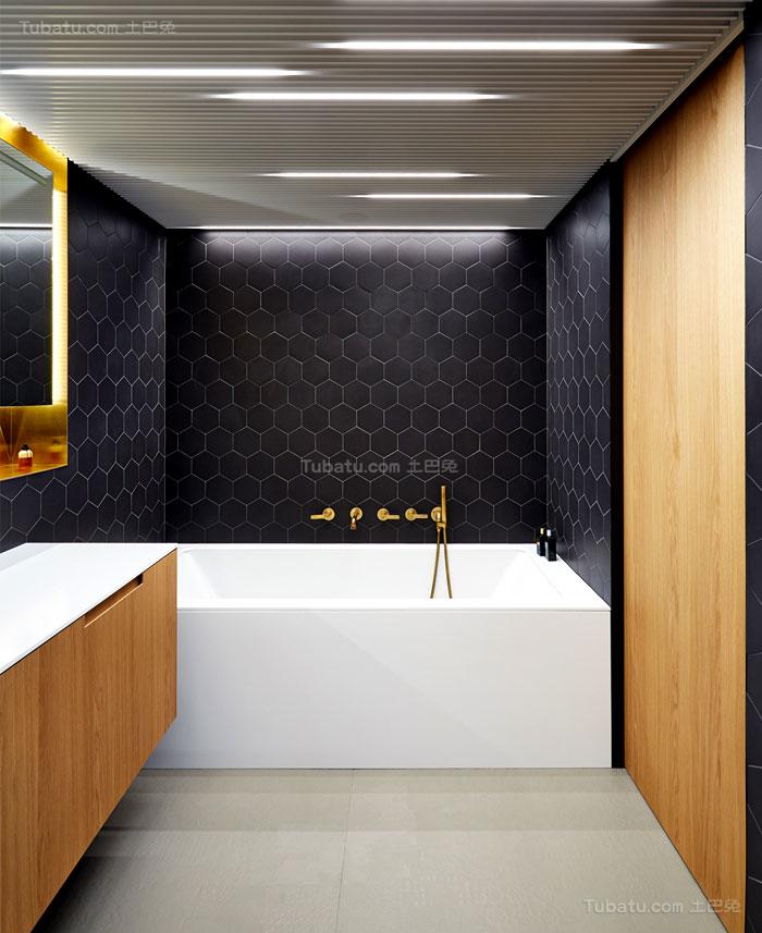 典雅舒适系列卫生间浴室装修效果图