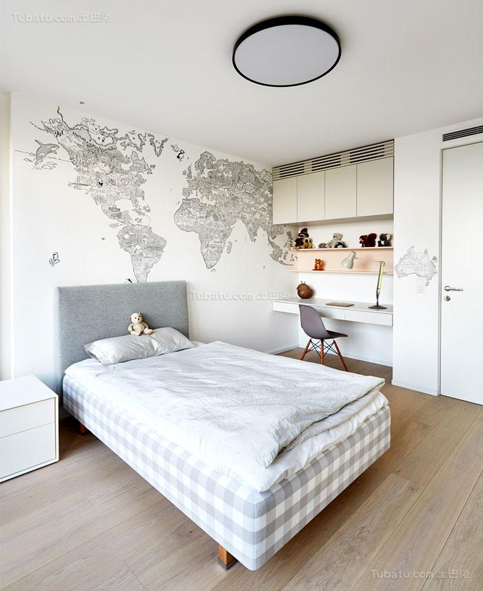 典雅舒适系列卧室设计装修效果图