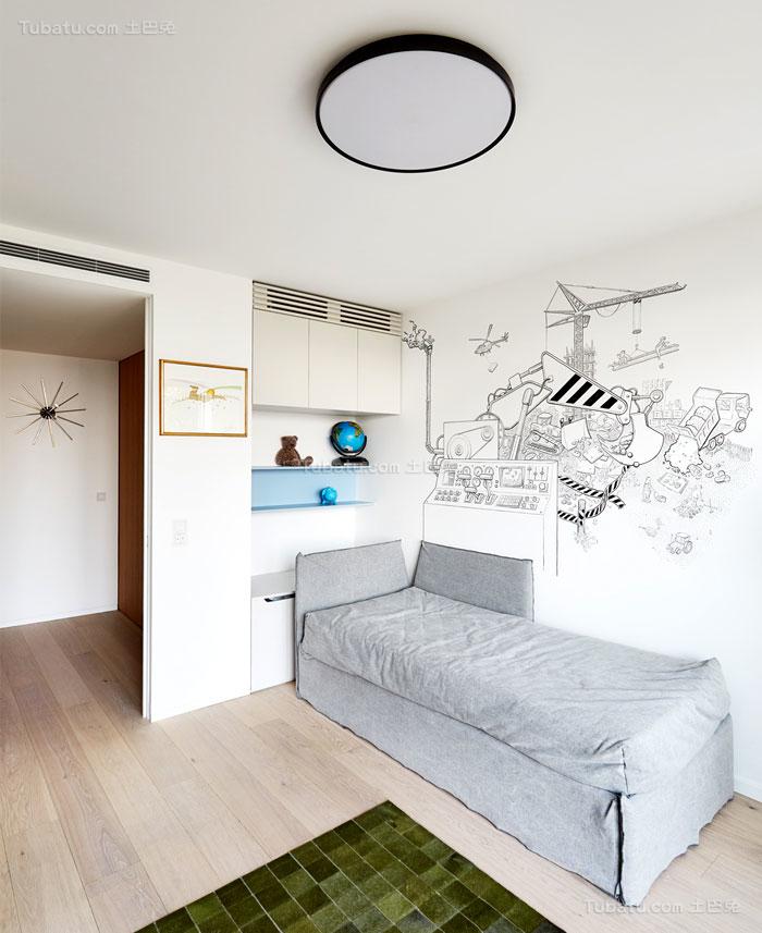 典雅舒适系列儿童房装修效果图