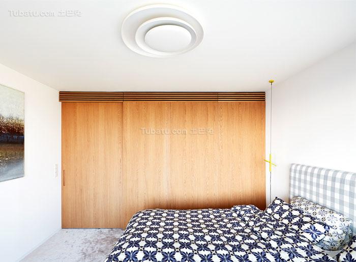 典雅舒适系列卧室衣柜装修效果图