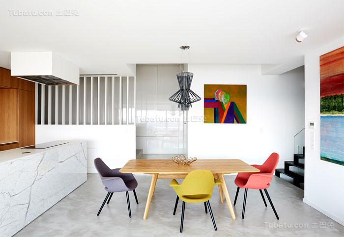 典雅舒适系列餐厅装修效果图