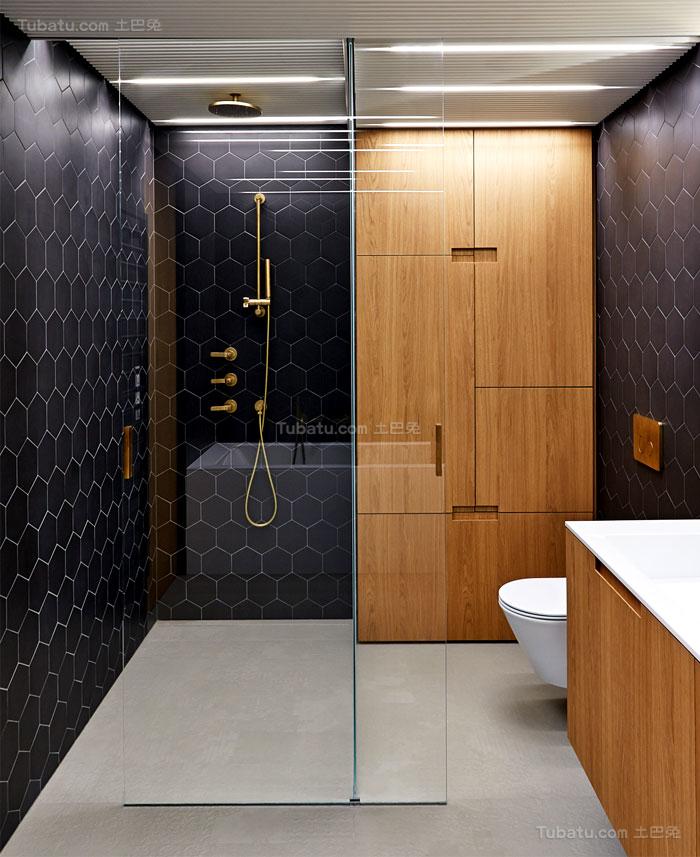 典雅舒适系列卫生间装修效果图