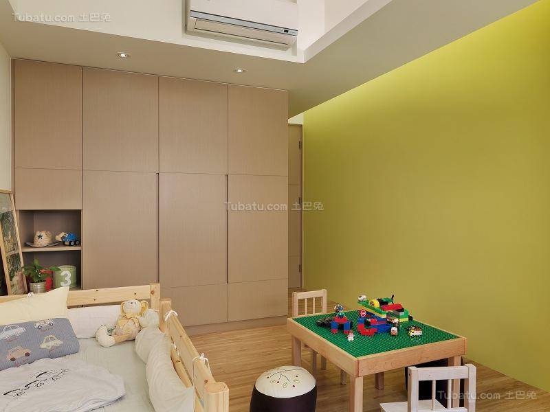休闲童趣系列儿童房装修效果图
