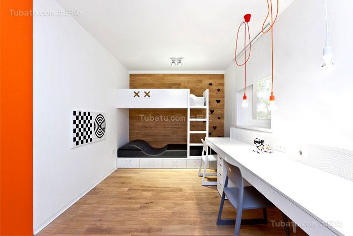 简约休闲系列儿童房装修效果图