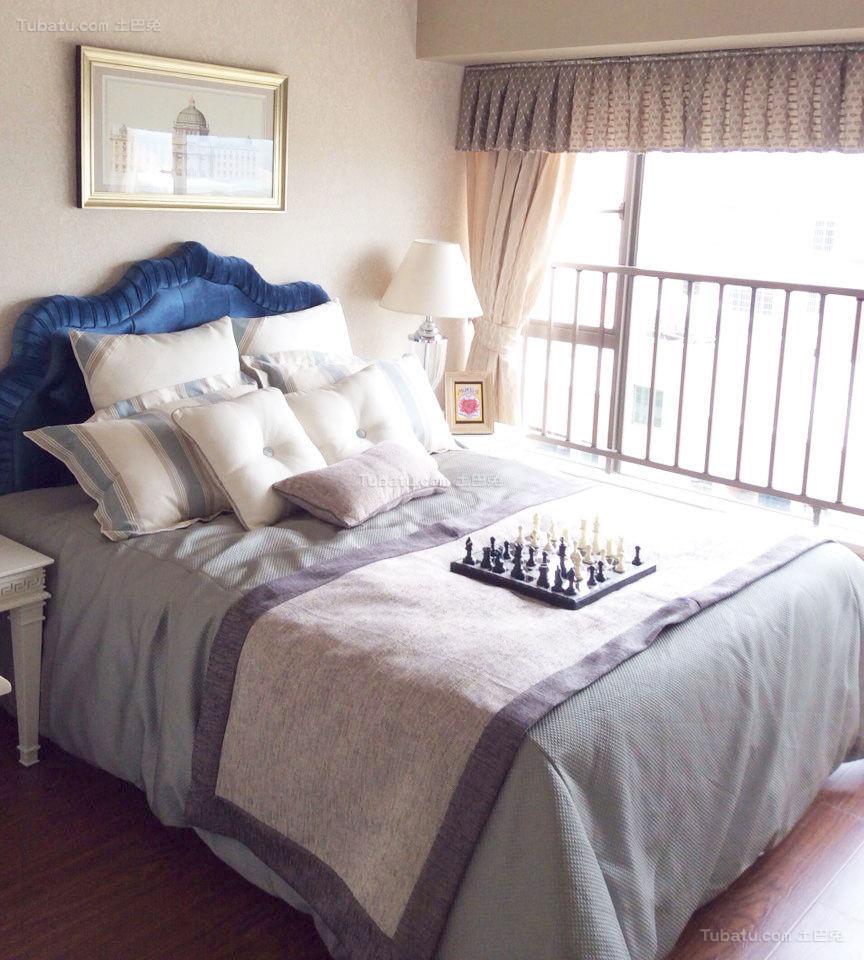 简约风雅致卧室装修图