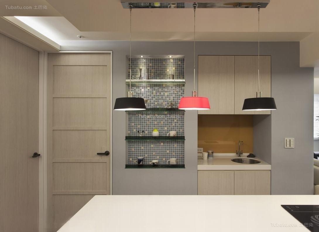 现代风雅致厨房装修图
