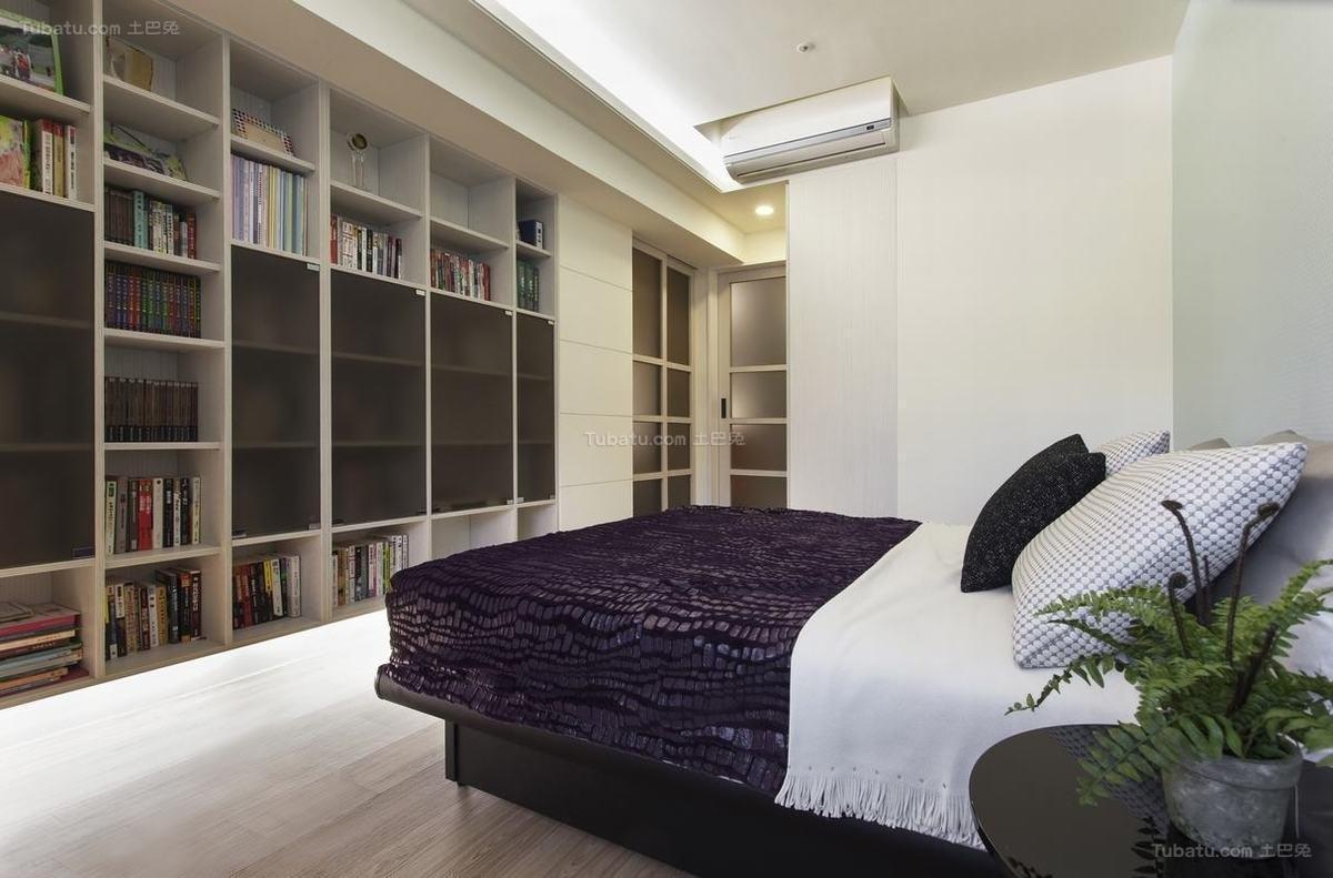 现代风雅致卧室装修图