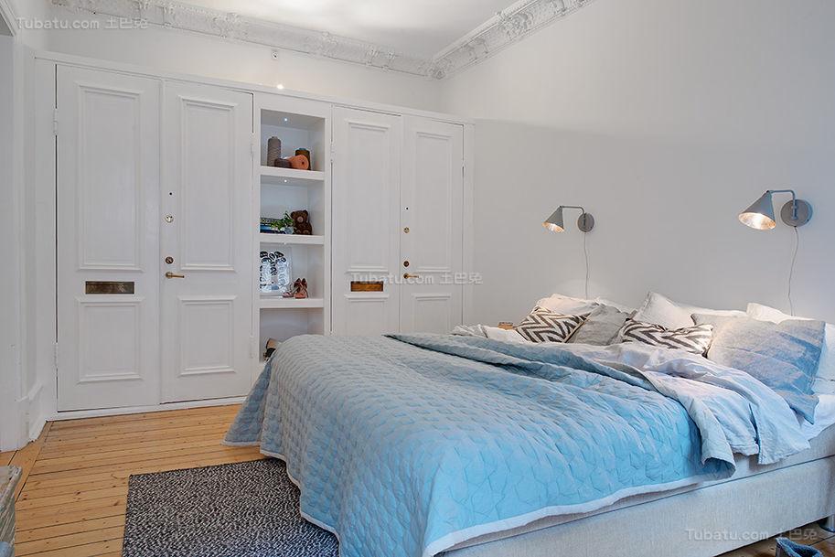 美式清新舒适系列卧室装修效果图