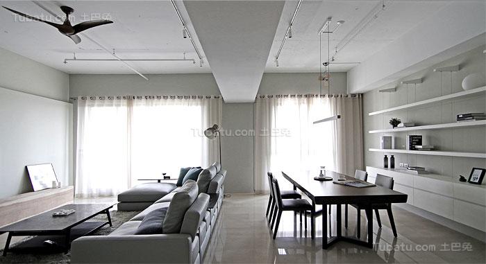 简约舒适家装公寓装修效果图