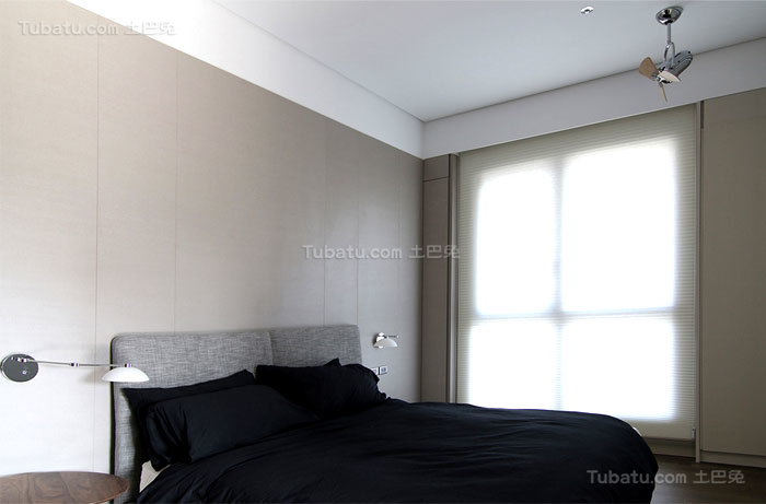 简约舒适家装卧室装修效果图