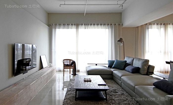 简约舒适家装客厅装修效果图