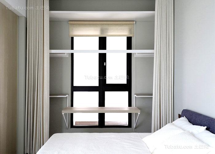 简约舒适家装窗户装修效果图