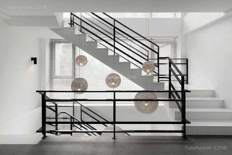 简约精致时尚楼梯装修效果图