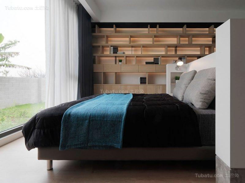 简约精致时尚卧室装修效果图