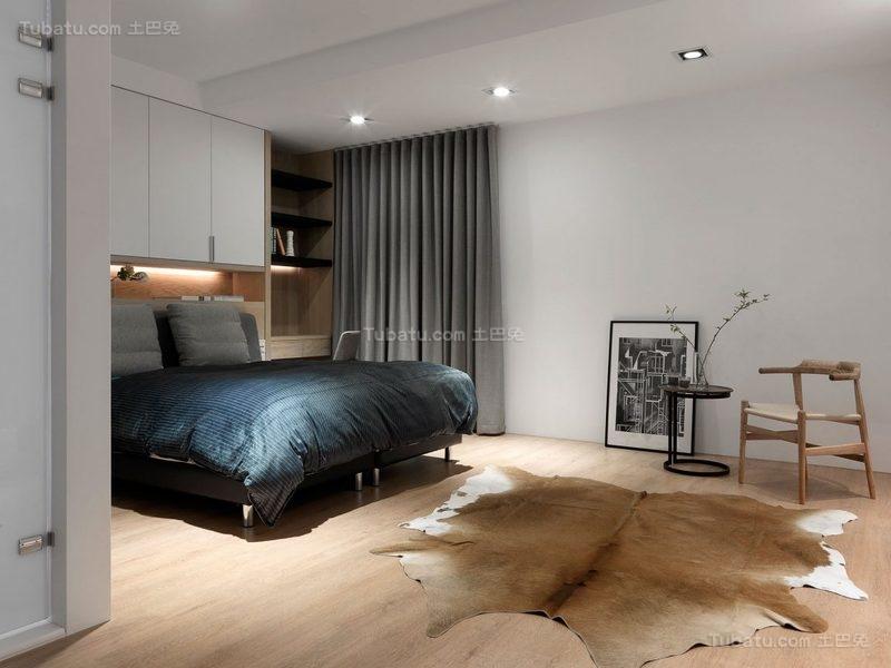 简约精致时尚卧室设计效果图
