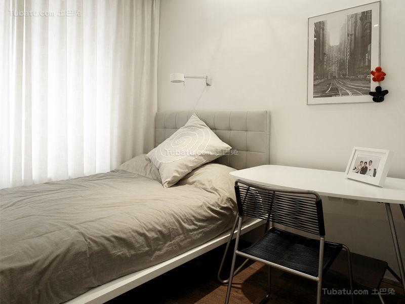 简约风小卧室装修图