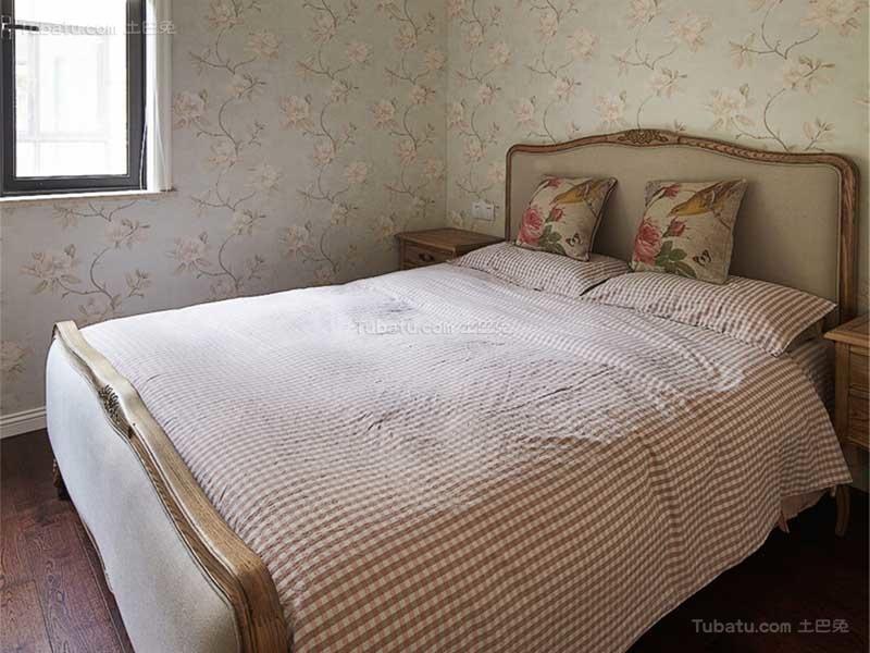 美式风主卧室装修图
