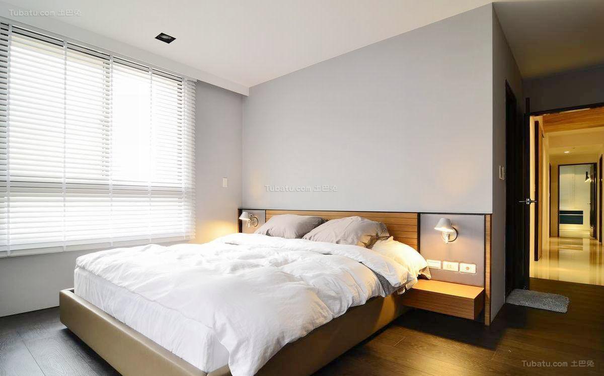 简约风精致大卧室效果图
