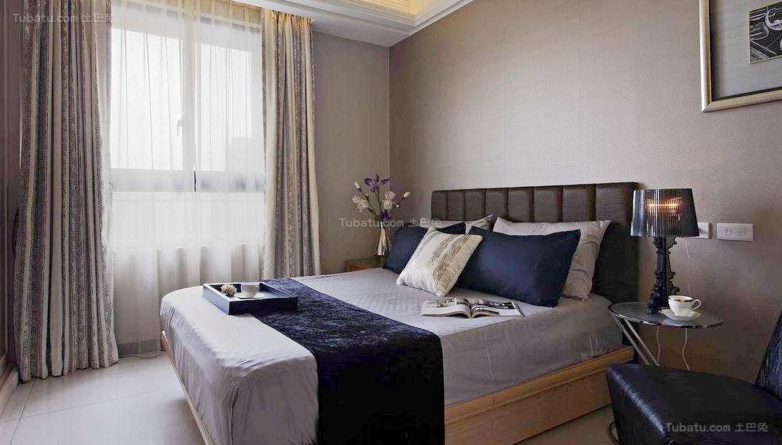 欧式精致感次卧室效果图