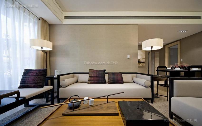 中式典雅客厅装修效果图