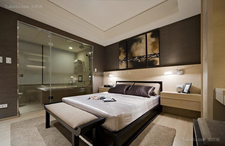 中式典雅卧室装修效果图