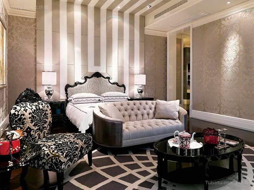 华丽精致卧室装修效果图