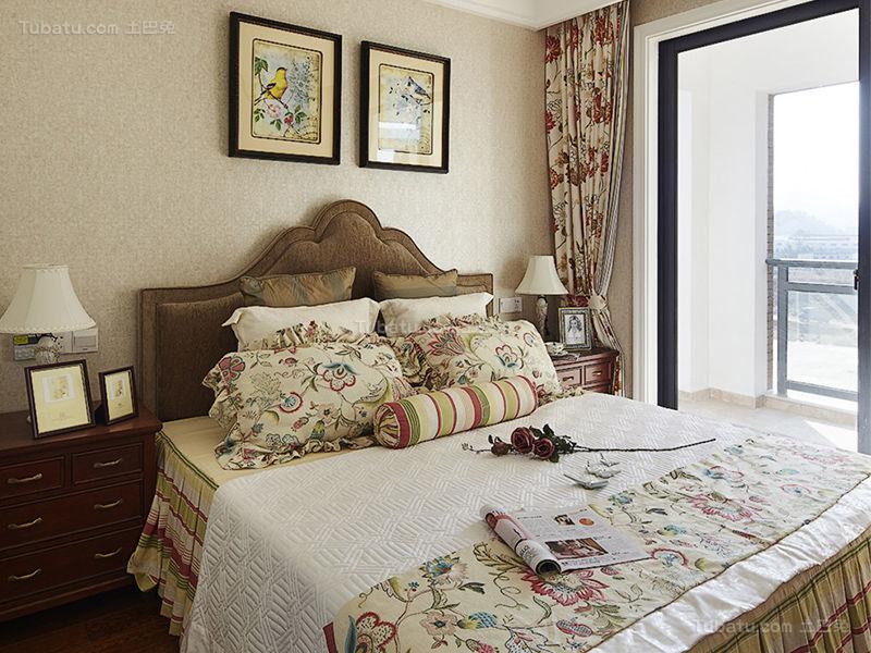 精致美式卧室装修效果图