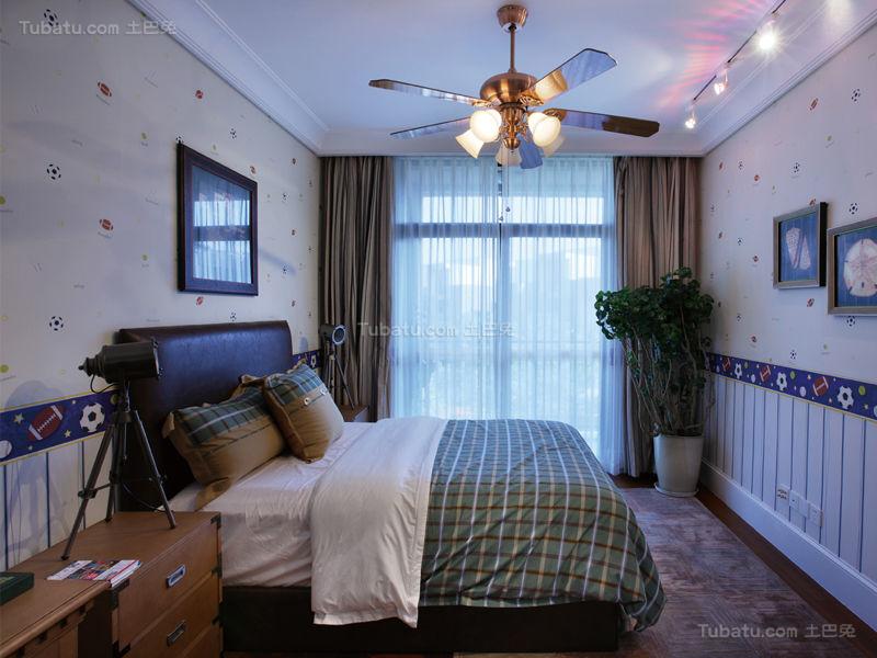 欧式风情大气小卧室效果图
