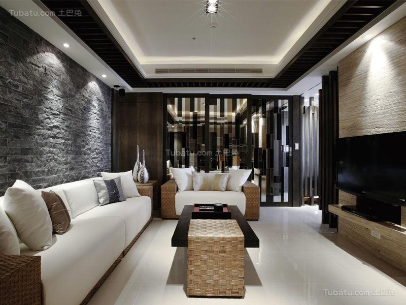 欧式华丽感两居室装修图
