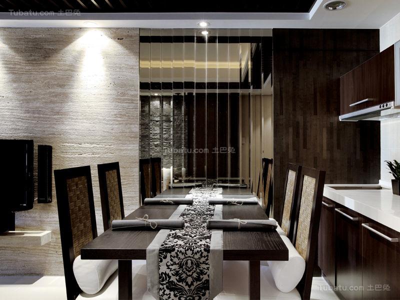 欧式华丽感餐厅装修图
