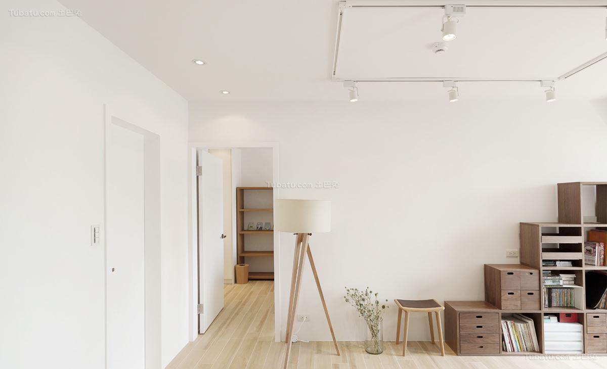 清新氧气系列简约风格二居室装修效果图