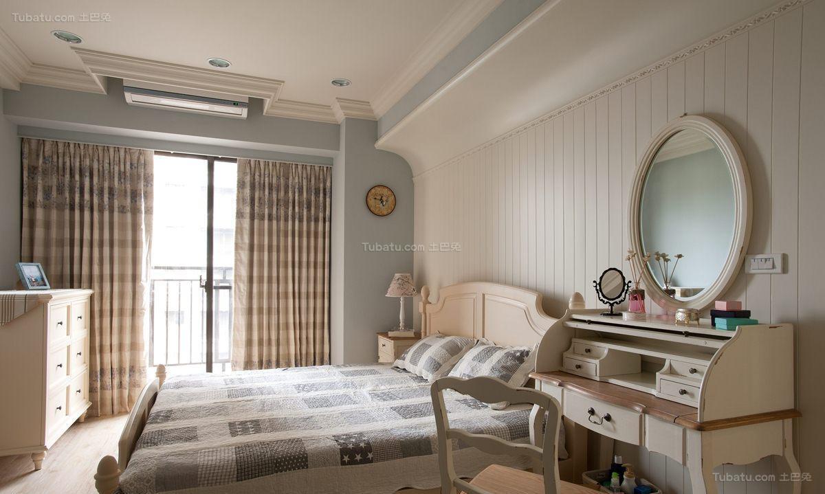 温馨优雅田园风卧室装修效果图